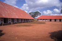 Royal Bas-Reliefs of Abomey: Musée Historique d'Abomey, view of King Guezo courtyard