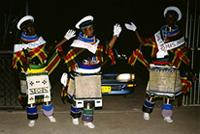 Ndebele Speed Cops at the end of initiation period, Senegal