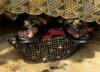 The sandals of Akan chiefs, Ghana
