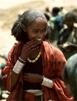 Oromo woman from Welo Province, Ethiopia