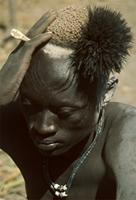 Young Dinka man, Sudan