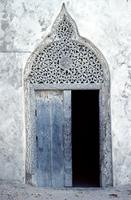 A traditional Islamic wooden door, Somalia