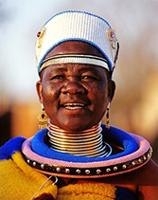 Ndebele Artist; S. Africa
