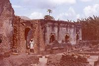 Kilwa Kisiwani: Great Mosque. Northern Part from East