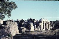 Kilwa Kisiwani: Great Mosque. South Part, Exterior from South West