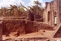 Kilwa Kisiwani: West of Great Mosque, SS level 1 removed. Opposite doorway. F 2-3