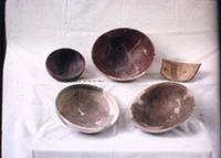 Kilwa Kisiwani: Local pottery. Sgraffiato period