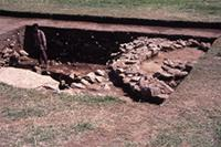 Aksum - Excavation Trenches
