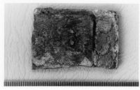 Aksum - Finds - 2 Rectangular bronze plaques/box fittings