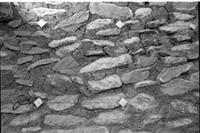 Aksum - Excavations - West wall
