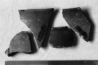 Aksum - Finds - 4 Pot rim/body fragments