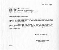 Correspondence between Joussamme and Chittick
