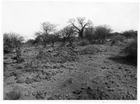 Engaruka, stream (upper) cairns general view