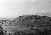 Engaruka, dam and field terraces from west (courtesy of Tanzania Department of antiquities