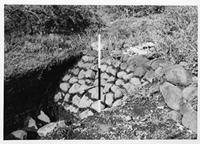 Engaruka, excavation of enclosure