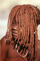 Detail of Himba Girl.