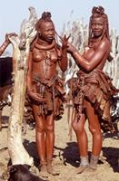 Two young Himba women.