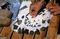 Stone tools and artefacts