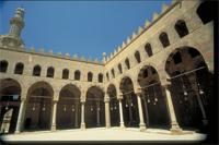 Cairo, Egypt: El Naser Mohamed Ibn Qalawoun Mosque, part of the Citadel fortress complex