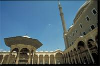 Cairo, Egypt: Mohammed Ali Mosque, part of the Citadel fortress complex, interior courtyard