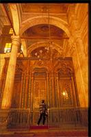 Cairo, Egypt: Mohammed Ali Mosque, part of the Citadel fortress complex, interior detail