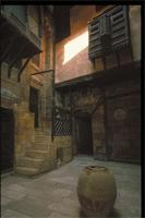 Cairo, Egypt: Hassan Fathy's residence in Old Cairo, detail