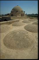 New Gourna, Egypt: mosque designed by architect Hassan Fathy