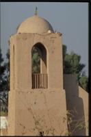 New Gourna, Egypt: mosque designed by architect Hassan Fathy, detail