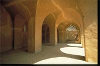 New Gourna, Egypt: mosque designed by architect Hassan Fathy, interior