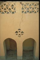 New Gourna, Egypt: architect Hassan Fathy's home on the West Bank, detail