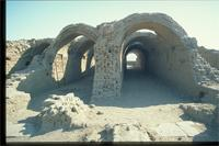 Luxor, As Sa'id, Egypt: Ramesseum, earthen vaults and arches
