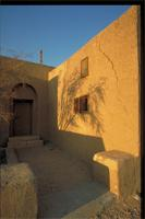 Luxor, As Sa'id, Egypt: Stopplaere House, mud construction on West Bank designed by Hassan Fathy