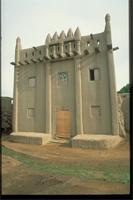 Middle Niger, Mali, Djenné: house of the Marabout