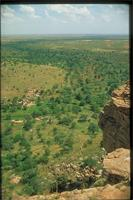 Banani, Mali: overview of Banani village, Dogon Plateau