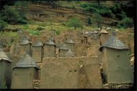Banani, Mali: view of granaries