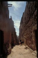 Jewish Kasbah, Morocco: view of village