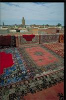 Marrakech, Morocco: view to Kasbah Mosque