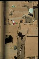 Ouarzazate, Morocco: view of earthen village