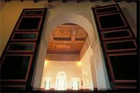 Ouarzazate, Morocco: Kasbah Taourirt, interior, decorative details