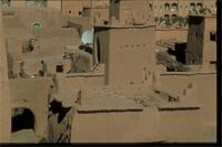 Ouarzazate, Morocco: view from Kasbah Taourirt to the souks
