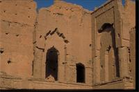 Tamnougalt Kasbah, Morocco: deteriorated exterior of the kasbah