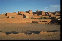 Zagora, Ouarzazate, Morocco: view of the village