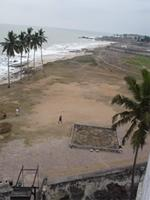 Photograph of a place in Front of the Elmina Castle,Ghana