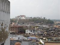 View of Fort St. Jago and the town
