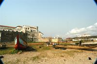 Photograph of boats, Elmina, Ghana