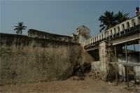 Photogrammetric image of the Elmina Castle, Ghana
