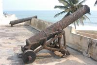 Photogrammetric image of a cannon in the West Bastion of the Elmina Castle, Ghana