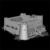 3D Model of Lamu Fort, Kenya, High Resolution
