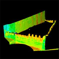 Individual Laser Scan of Lamu Fort, Kenya