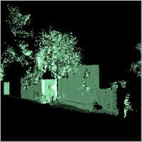 Individual Laser Scan of Shela Mosque, Kenya